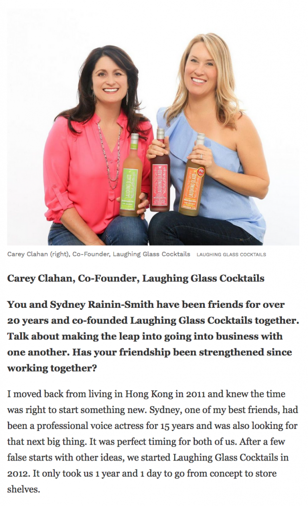 Laughing Glass Cocktails in Forbes.com